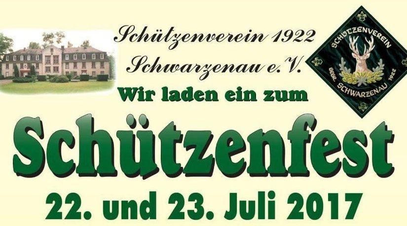 Schützenfest Schwarzenau – 60 Jahre Vereinsfreundschaft