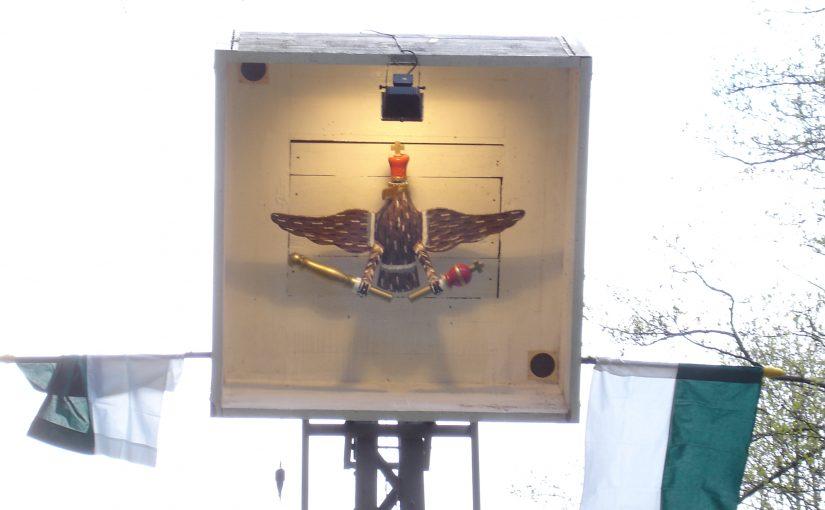 Der Königsvogel des SSV Borbach