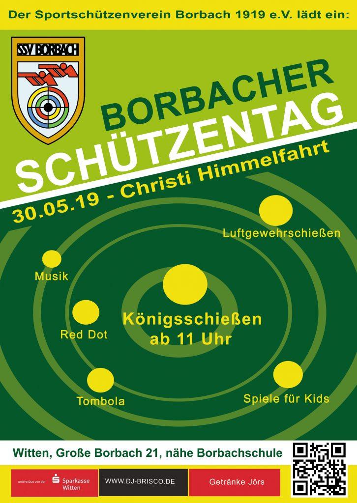 Fyler der Borbacher Schuetzentages 2019